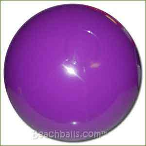 16'' Solid Purple Beach Balls
