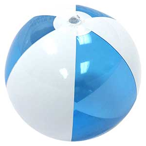 16'' Imprinted Celebrate the River Beach Balls