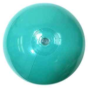 16'' Hitched Blue Beach Balls