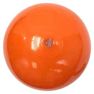 16'' Solid Orange Beach Balls