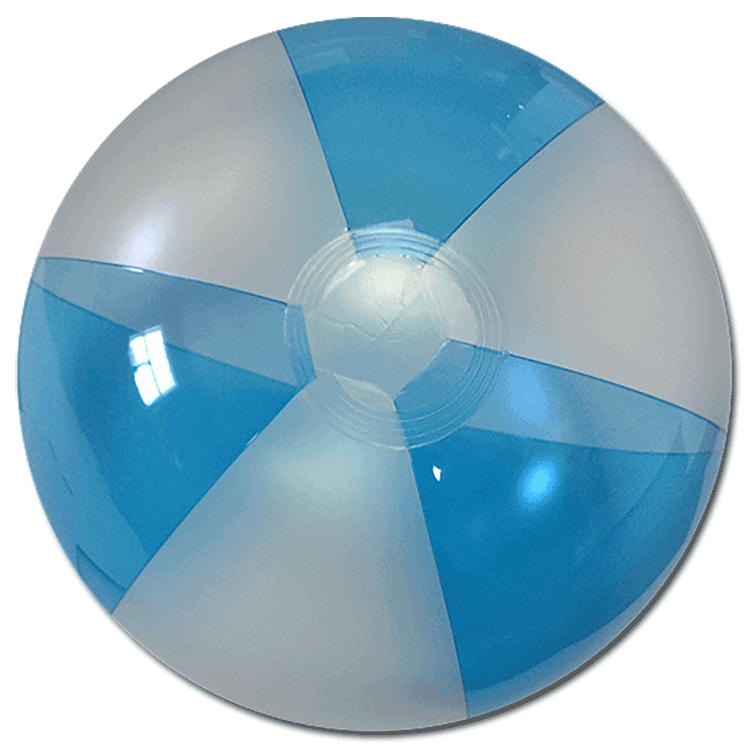 Largest Selection Of Beach Balls 16 Translucent Blue