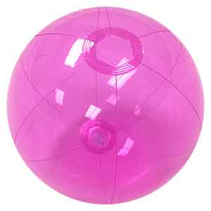 16'' Translucent Purple Beach Balls