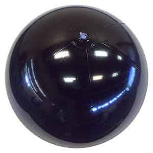 24'' Solid Black Beach Balls