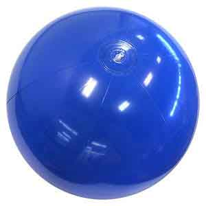 24'' Solid Blue Beach Balls