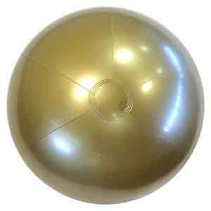24'' Solid Gold Beach Balls