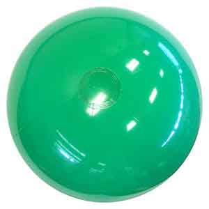 24'' Solid Green Beach Balls