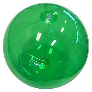 24'' Translucent Green Beach Balls
