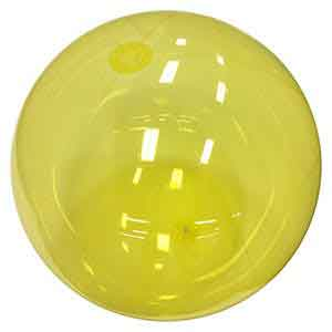 24'' Translucent Yellow Beach Balls