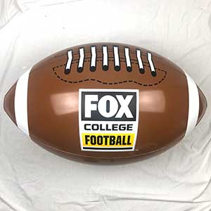 36'' Football FOX College Beach Ball