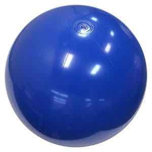 36'' Solid Blue Beach Balls