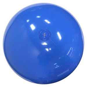 36'' Solid Light Blue Beach Balls