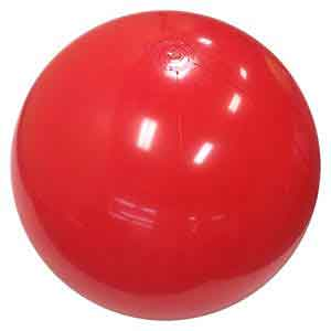 36'' Solid Red Beach Balls