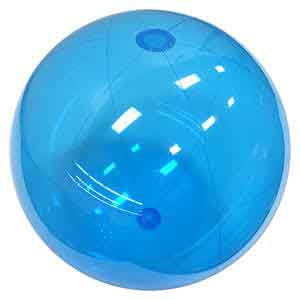 36'' Translucent Blue Beach Balls