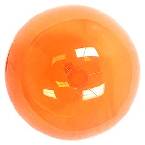 36'' Translucent Orange Beach Balls