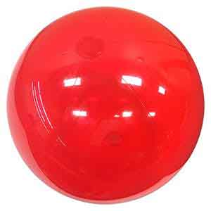 36'' Translucent Red Beach Balls