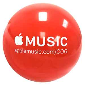 48'' Apple Music Center of Gravity Beach Ball