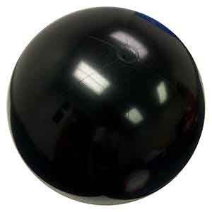 48'' Solid Black Beach Balls