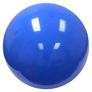 48'' Solid Light Blue Beach Balls