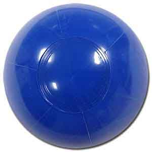 6'' Solid Blue Beach Balls