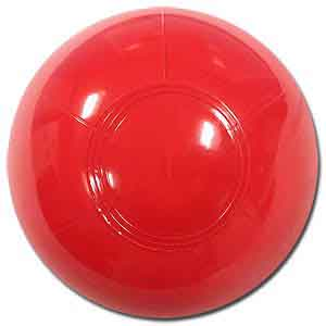 6'' Solid Red Beach Balls