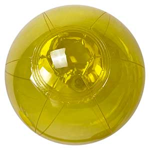 6'' Translucent Yellow Beach Balls