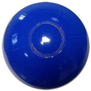 12'' Solid Blue Beach Balls