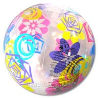 24'' Splash Designs Beach Balls