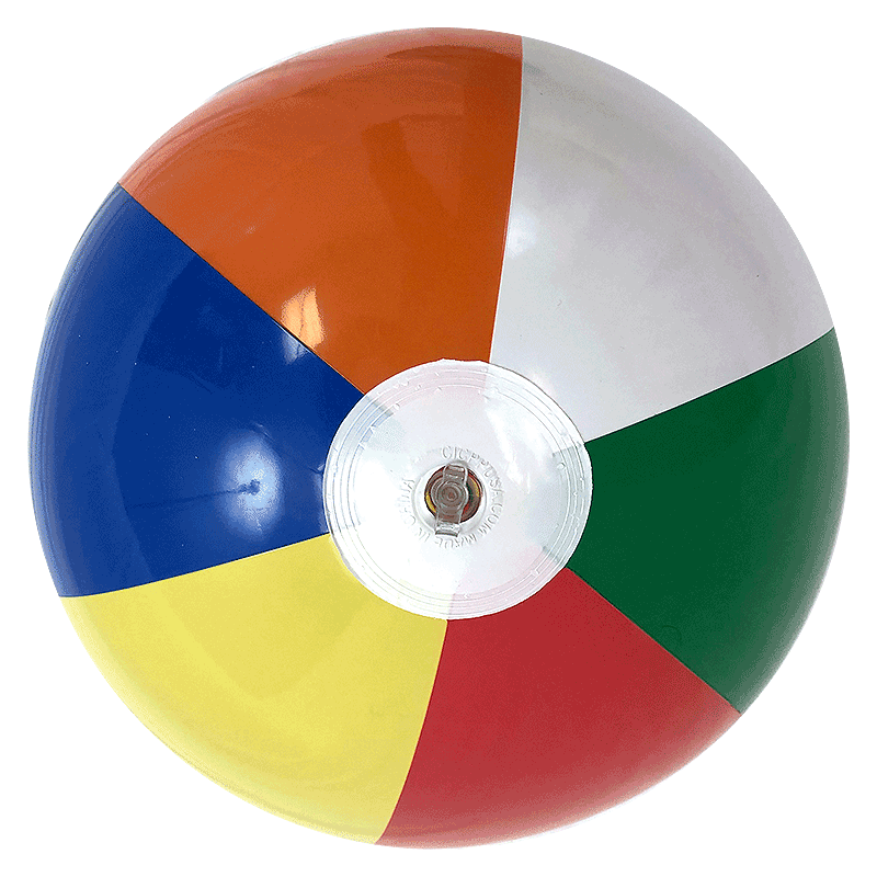 16'' Multi-Color Beach Balls