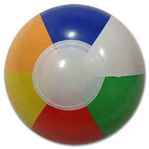 4'' Multi-Color Beach Balls