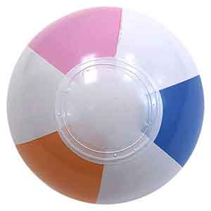4'' Mini Retro Beach Balls