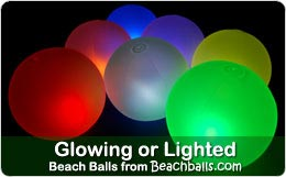 Crystal Glow Stick Beach Balls