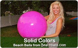 Solid Beach Balls