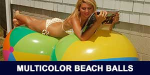 Multi-Color Beach Balls