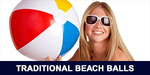 Traditional Beach Balls
