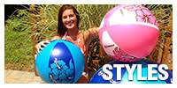 Beach Balls By Style
