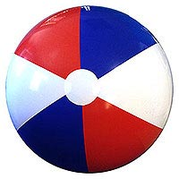 7-FT Signature SE Red White & Blue Beach Ball