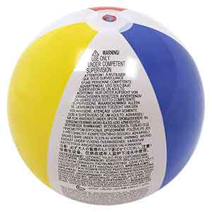 20'' Traditional Beach Balls