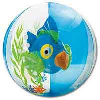 24'' Aquarium Blue Beach Balls