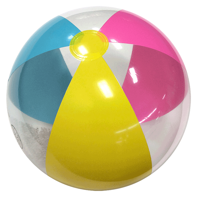 Largest Selection of Beach Balls - 24-Inch Paradise Pastel ...