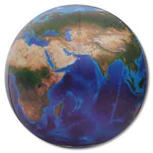 36'' Diameter Earth - Blue Marble Beach Balls