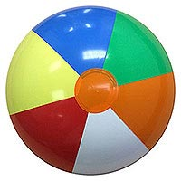 16'' Multicolor P7 Beach Balls
