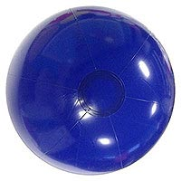 36'' Solid Blue P7 Beach Balls