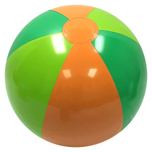 16'' Tropical P7 Beach Balls