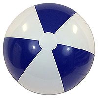 36'' Blue & White P7 Beach Balls
