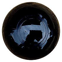 Clearance - 5'' Solid Black SE Beach Ball