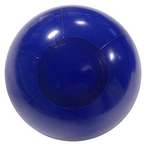 5'' Solid Blue P7 Beach Ball