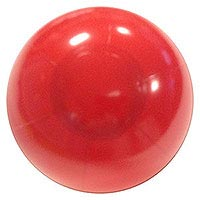 Clearance - 5'' Solid Red P7 Beach Ball