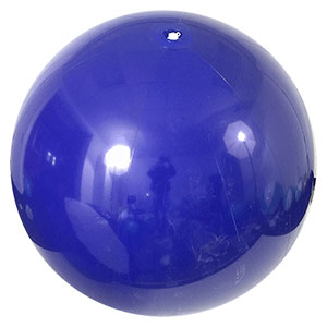 6-FT Solid Blue P7 Beach Balls