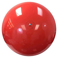 6-FT Solid Red P7 Beach Balls
