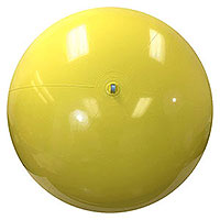 6-FT Solid Yellow P7 Beach Balls